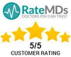 RateMDs Customer Rating