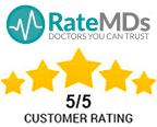 RateMDs Customer Rating
